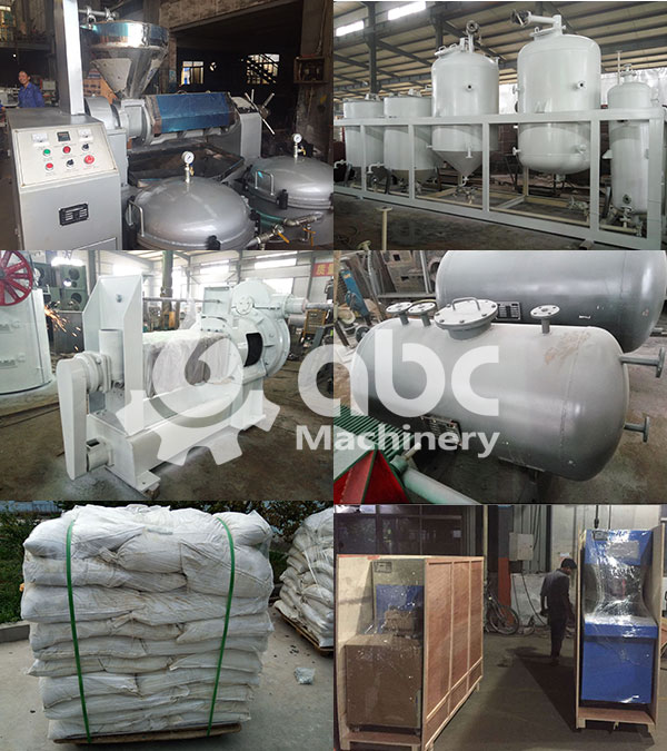 10tpd sunflower seeds oil production line equipment