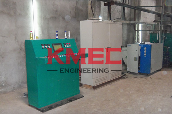 electric control cabinet for palm oil fractionation