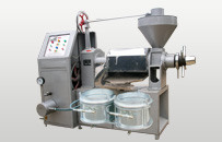 integrated screw oil press machine