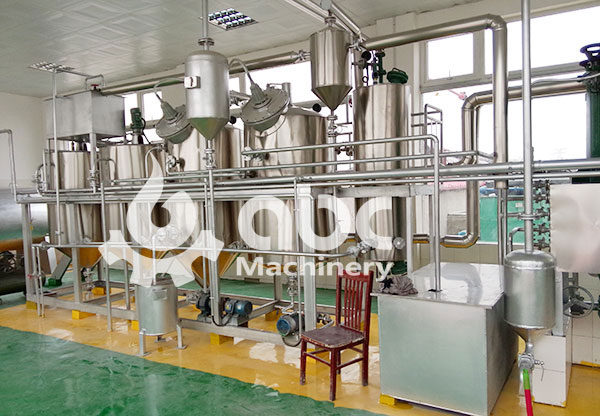 refining line for muti-purpose oil production