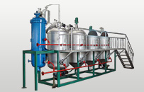 small scale oil refining line