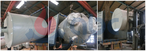 packing of 10 tpd cottonseed oil refinery plant