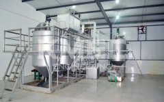 3TPD grape seed oil refining and dewaxing line in Qiuxian