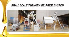 small turnkey oil press system