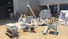 5TPD peanut oil pressing line export to Sudan