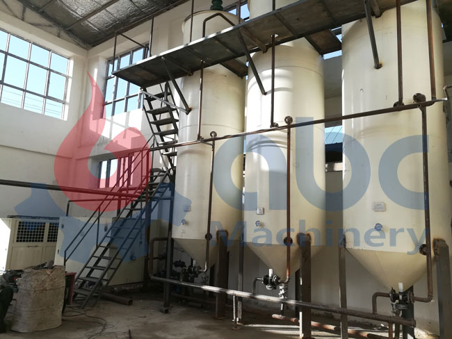 cottonseed oil fractionation plant