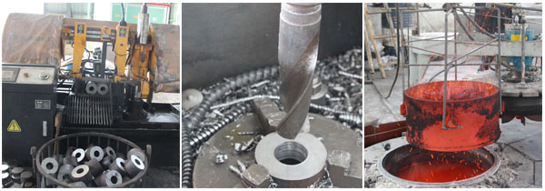 screw oil press spare parts manufacturing area