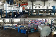1T/D Sunflower Oil Refining and Dewaxing Line