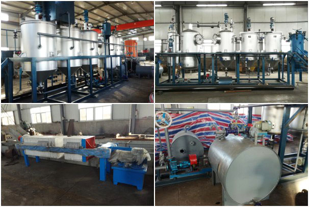 sunflower oil refining line exported to Tanzania
